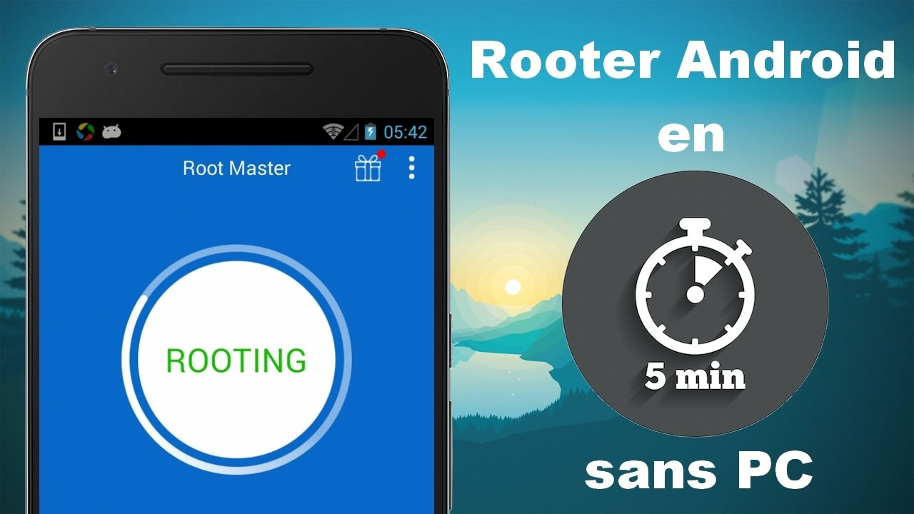 Root d'un Android
